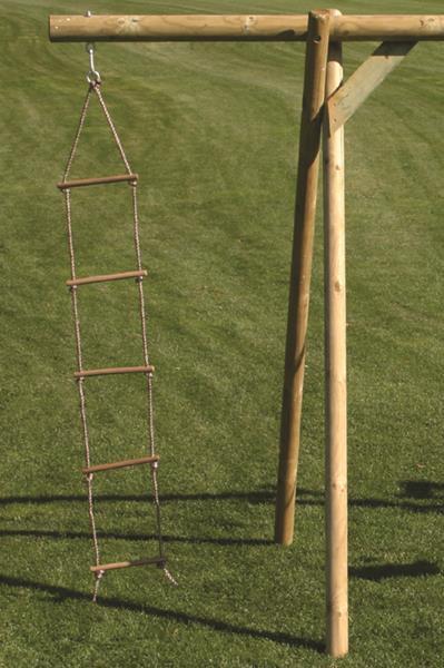 1,85m Strickleiter mit Hartholzsprossen