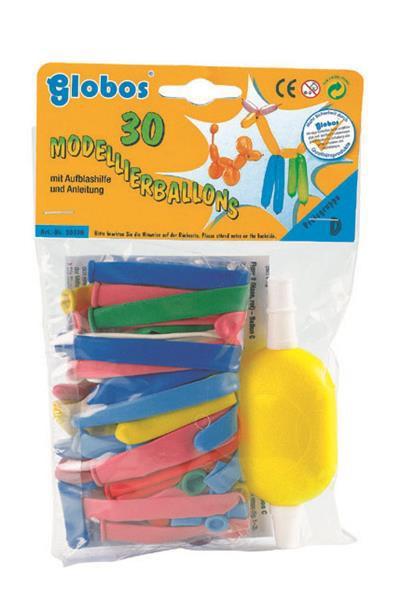 Modellierballons mit Handpumpe