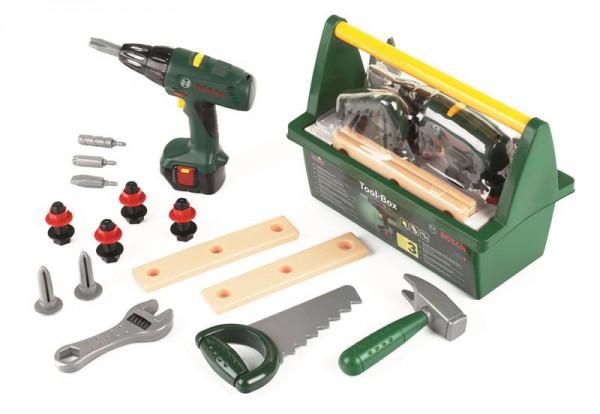 Bosch Werkzeug-Box mit Akkuschrauber