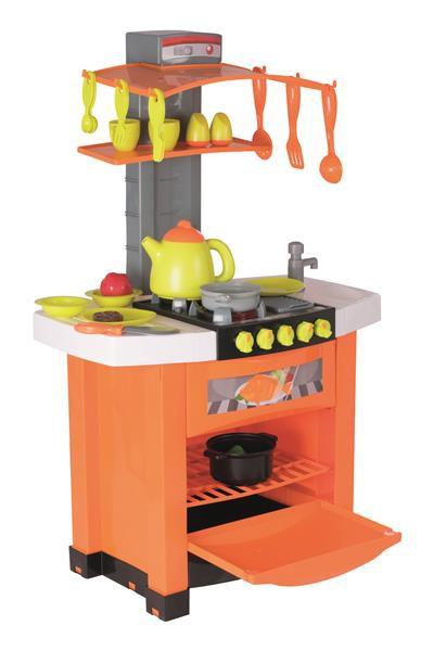 Smart Kitchen Kinderküche aufgestellt mit viel Zubehör
