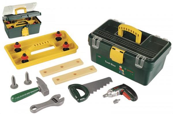 Bosch Werkzeugkasten mit Ixolino Akkubohrer