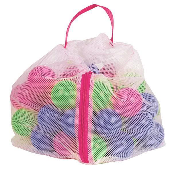 50 bunte Plastikbälle zur Ergänzung