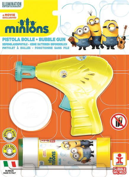 Minion Seifenblasen-Pistole