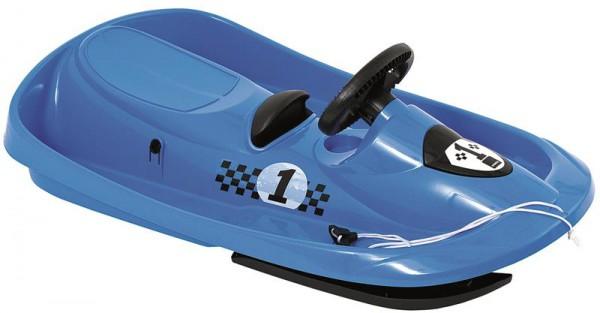 Bob Sno Formel in blau - mit Bremse und Zugschnur
