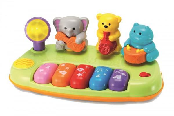 Kinder Keyboard mit 4 Melodien