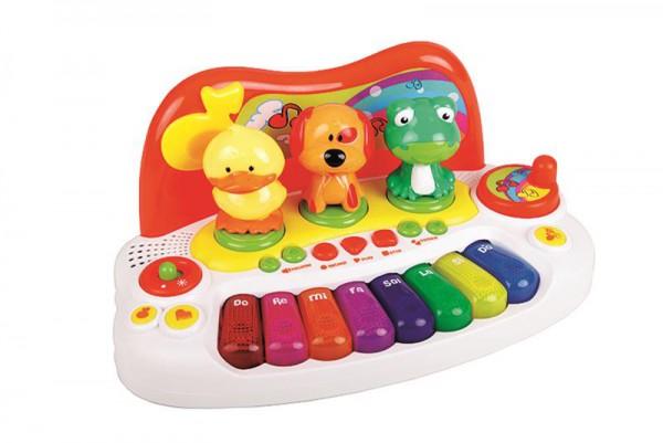 Keyboard mit 8 Tasten und Tierstimmen