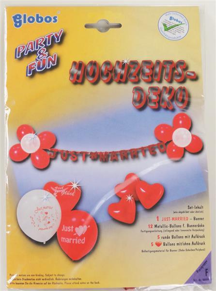 23-teiliges Luftballon Hochzeits-Set