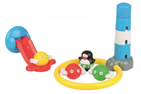 Bade-Spielzeug Crazy Slide mit Pinguin
