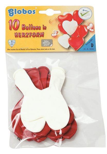 Herzen Lufballons 100 Stück