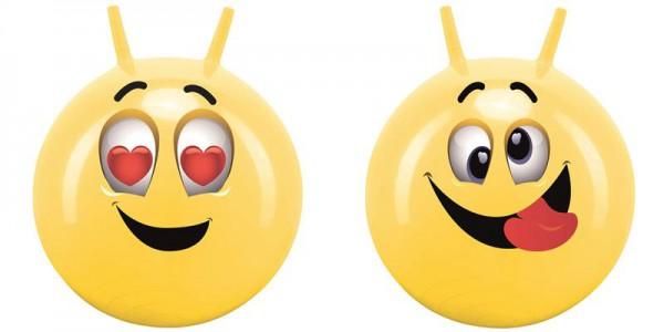 Smiley Sprungball mit 45-50cm Durchmesser