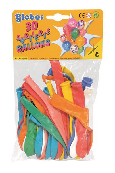 300 Stück farbliche Luftballons