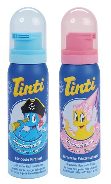 Tinti Badeschaum, 12 Stück (rosa und blau)