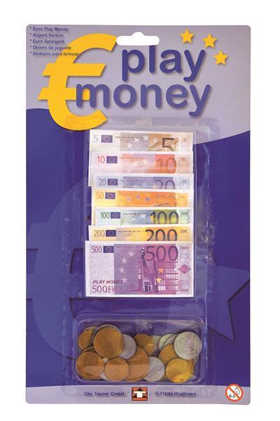 Kaufladen Spielgeld mit Scheinen und Münzen