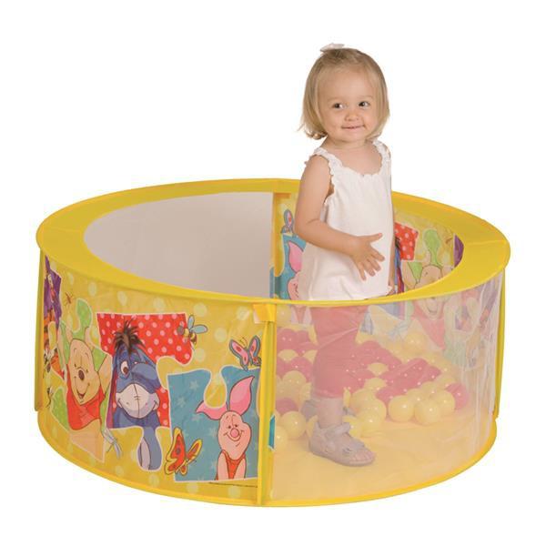 Winnie Pooh Ball Pool mit 30 bunten Bällen