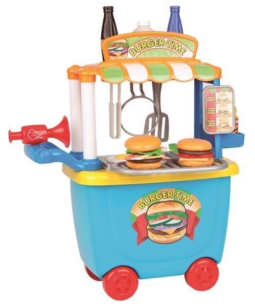 35-teiliger Hamburger Verkaufsstand, Spielebox