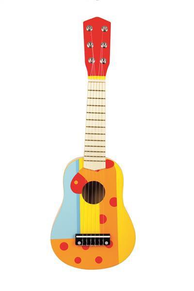 Bunte Kindergitarre mit 6 Saiten