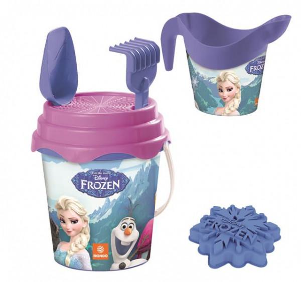 Frozen Eiskönigin Sandeimer mit Gießkanne und Zubehör