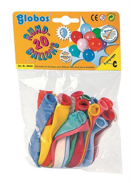 200 Stück Rundballons, farblich