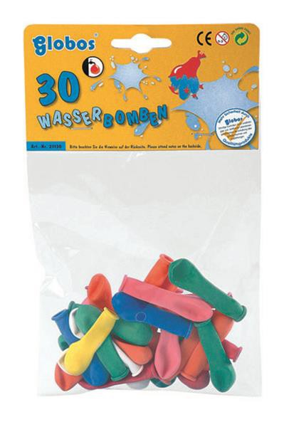 30 Stück Wasserbomben in tollen Farben