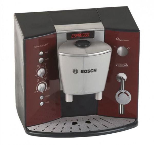 Bosch Kaffeemaschine mit Espressoset und Geräusche