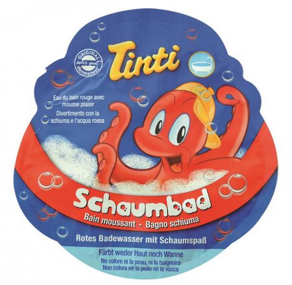 20ml Tinti Schaumbad in rot, 30 Stück