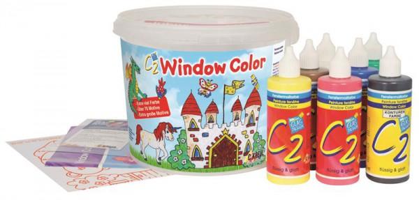 7-färbiges Window Colors Set im Eimer