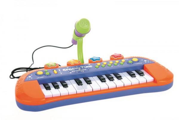 Keyboard mit Lichteffekte